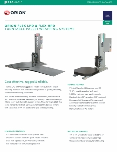 Flex LPD & HPD Semi-Automatic Stretch Wrappers download