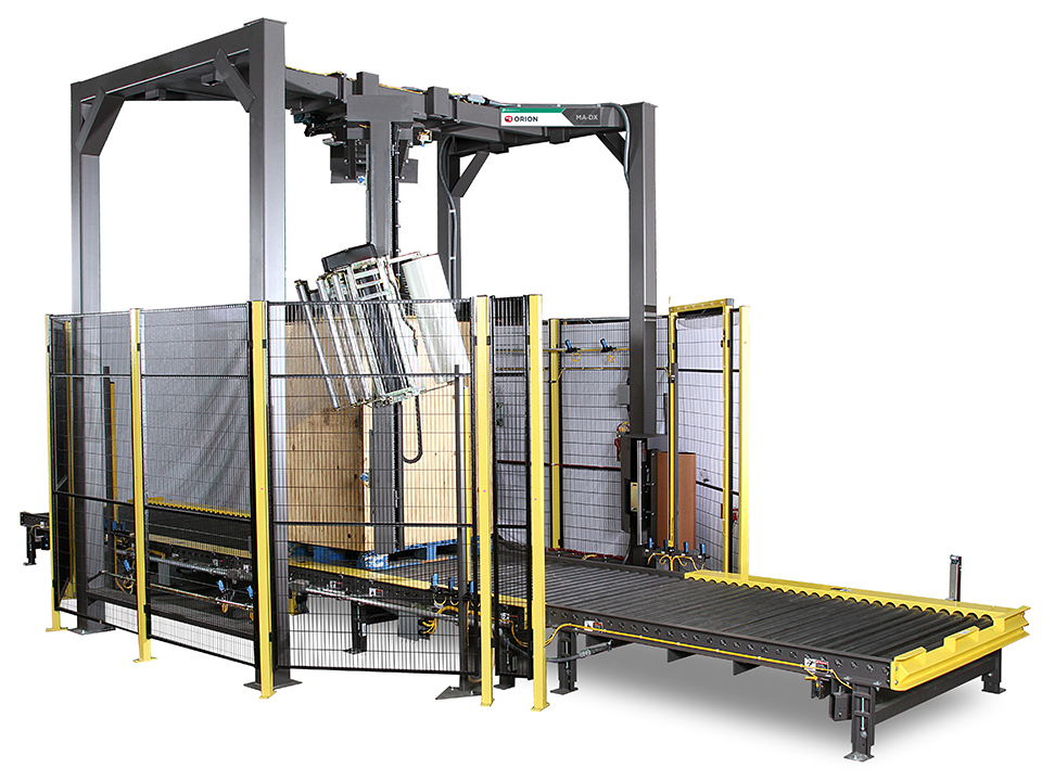 MA-DX - Rotary Tower Automatic Stretch Wrapping System