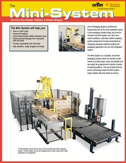 Stretch Wrapping & Palletizing Mini-System - Orion & Brenton download