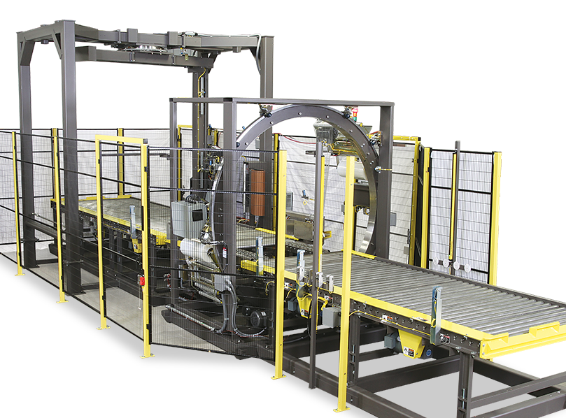 Orbital - 6 Sided - Orbital Stretch Wrapping Machine