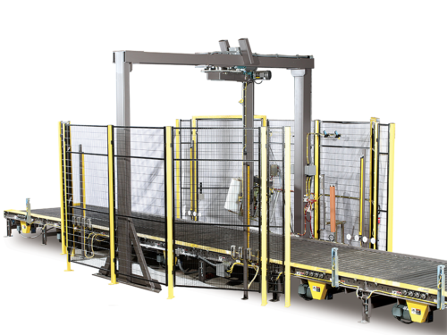 Rotary Tower Automatic Stretch Wrapping System MA-ST thumbnail