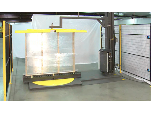 Window | Door Stretch Wrapping Machine Custom Window & Door Stretch Wrapping System thumbnail