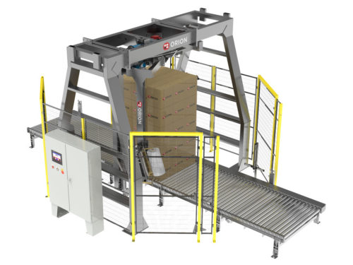 Rotary Tower Automatic Stretch Wrapping System MA-X thumbnail